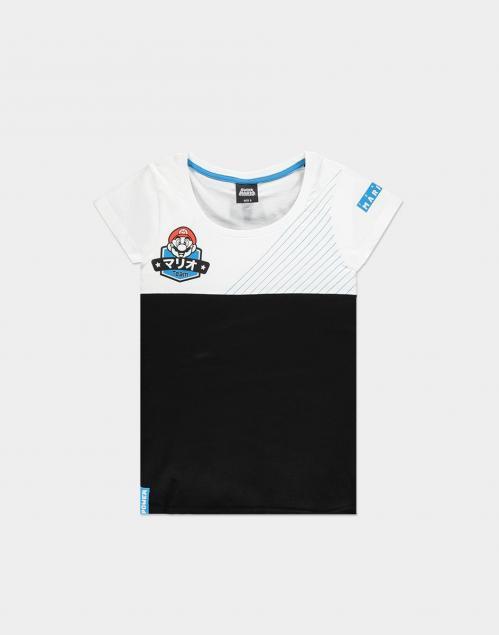 NINTENDO - Super Mario Team Mario - T-Shirt femme (S)
