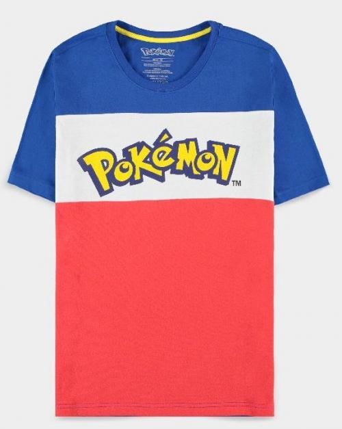 POKEMON - Colour Block - T-Shirt Homme (S)
