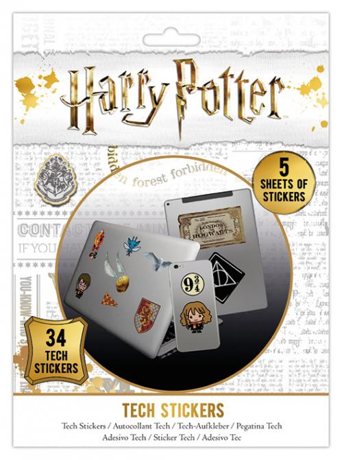 HARRY POTTER - Tech Stickers Pack - Artefacts