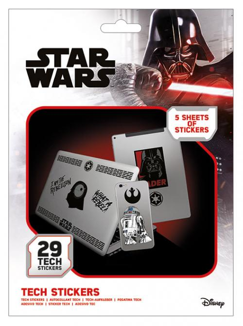 STAR WARS - Tech Stickers Pack - Force