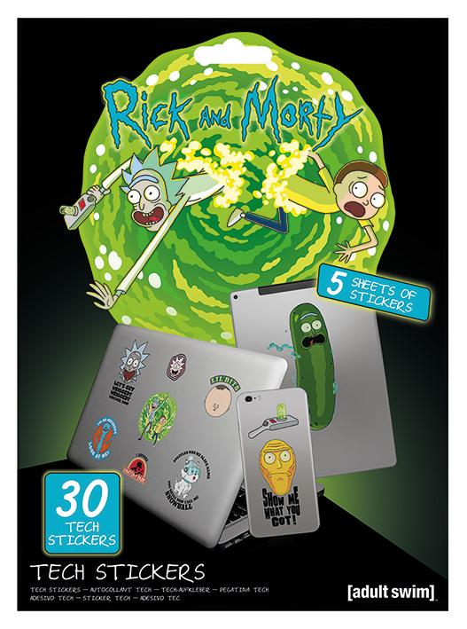 RICK & MORTY - Tech Stickers Pack - Adventures