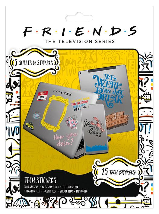 FRIENDS - Tech Stickers Pack - How You Doin'