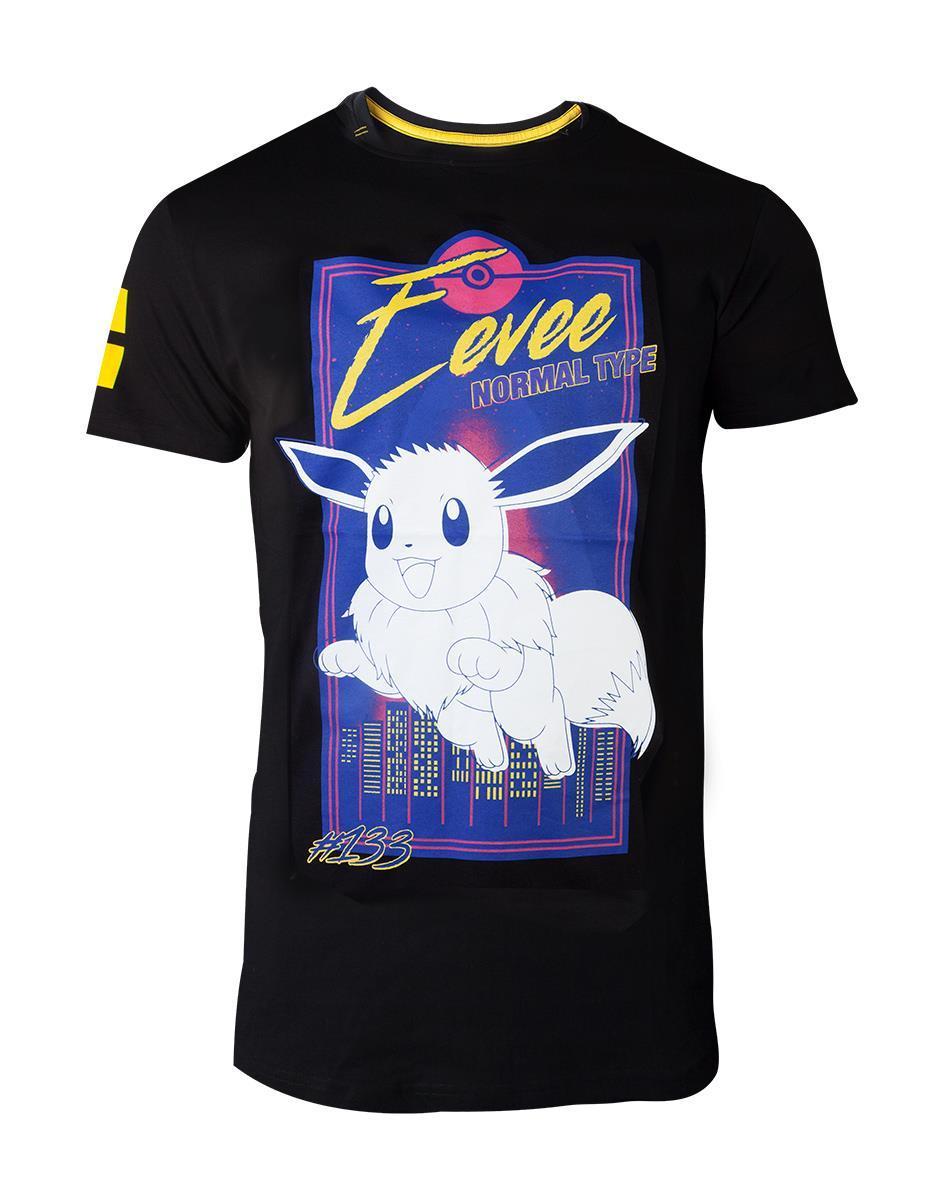 POKEMON - T-Shirt Premium - City Eevee (S)