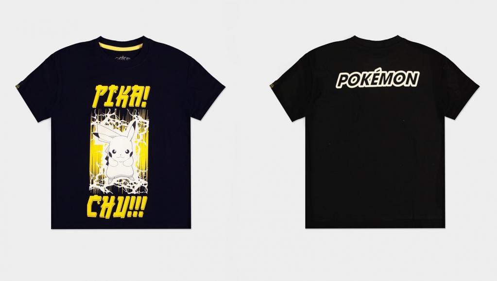 POKEMON - Pika! Chu!!! - T-Shirt Femme (S)_1