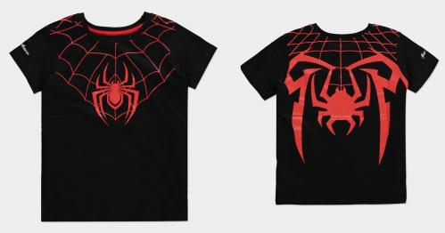 SPIDER-MAN MILES MORALES - Red Web - T-Shirt Kids (122/128)
