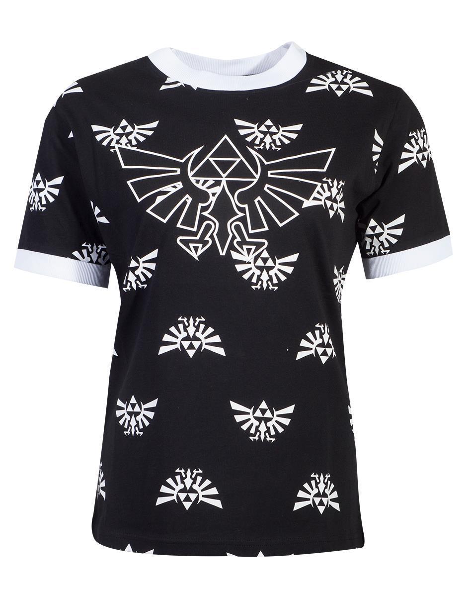 ZELDA - T-Shirt Femme - Hyrule (S)