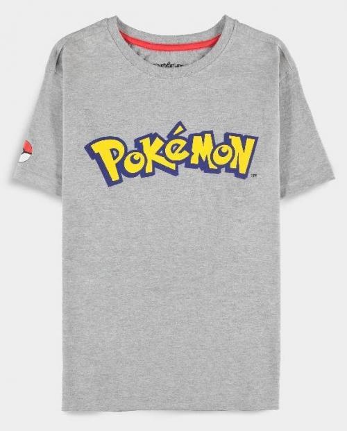 POKEMON - Logo - T-Shirt Femme (S)