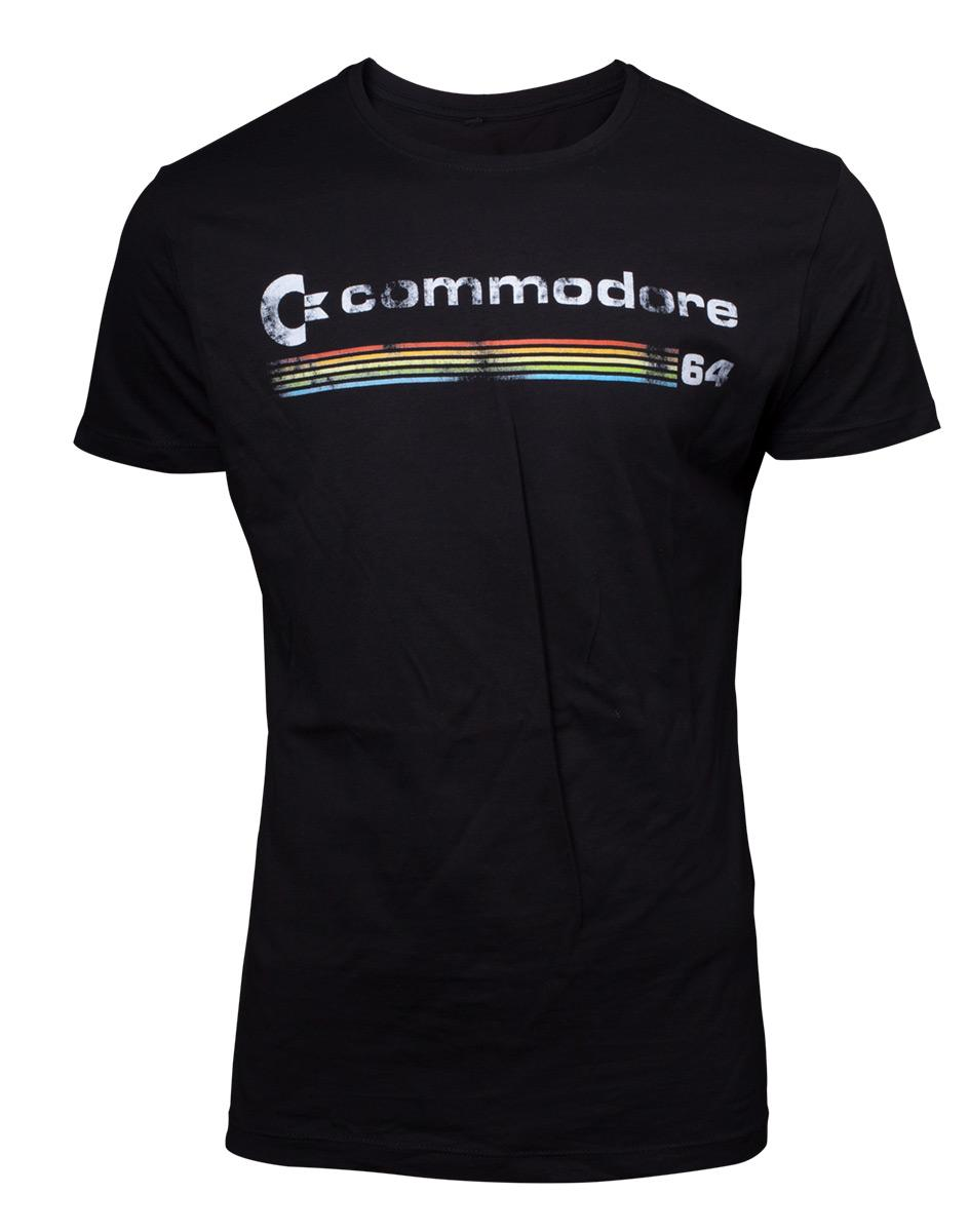 COMMODORE 64 - T-Shirt Logo (M)