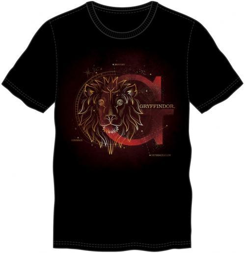 HARRY POTTER - T-Shirt homme Glow in the Dark - Gryffondor - (XXL)