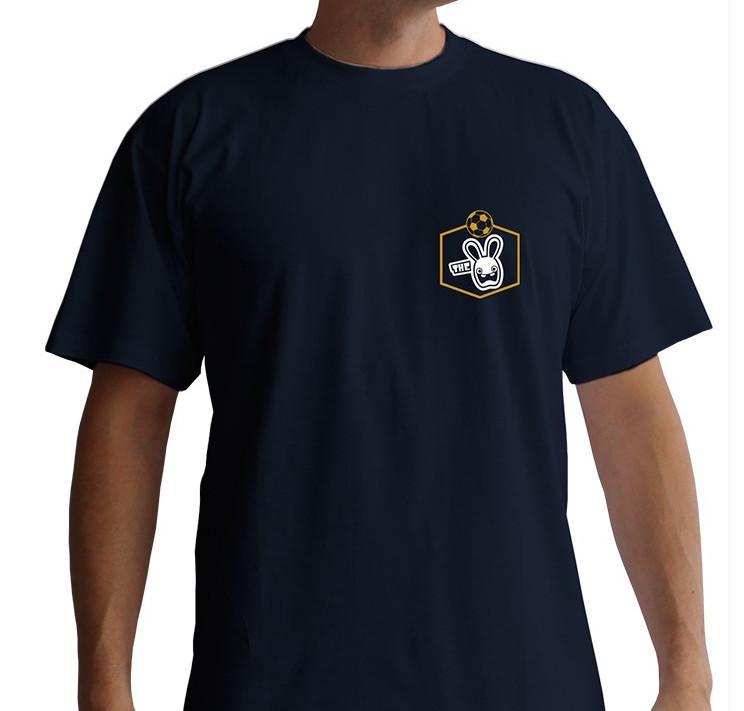 LAPINS CRETINS - T-shirt Euro Navy (L)