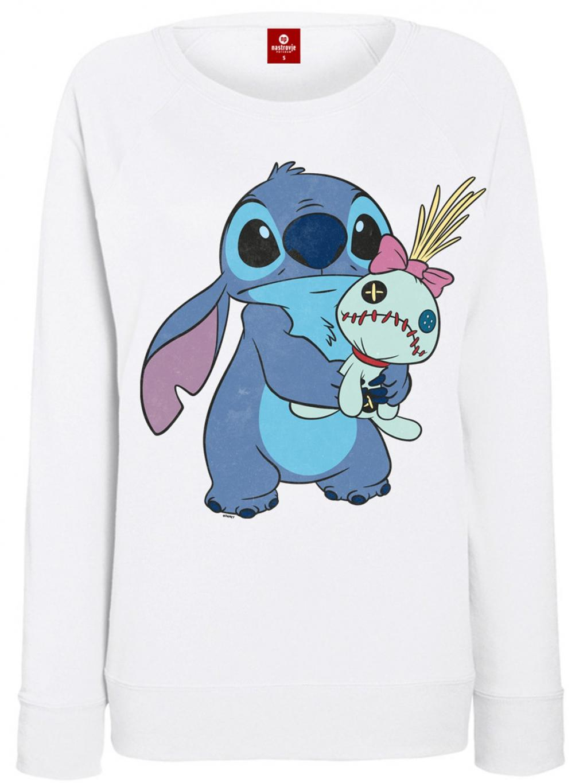 DISNEY - Sweater - Ohana Stitch & Scrump (S)_3
