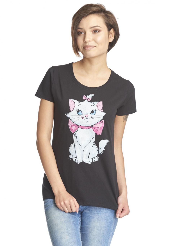 DISNEY - T-Shirt - Aristocats Marie Girl (S)