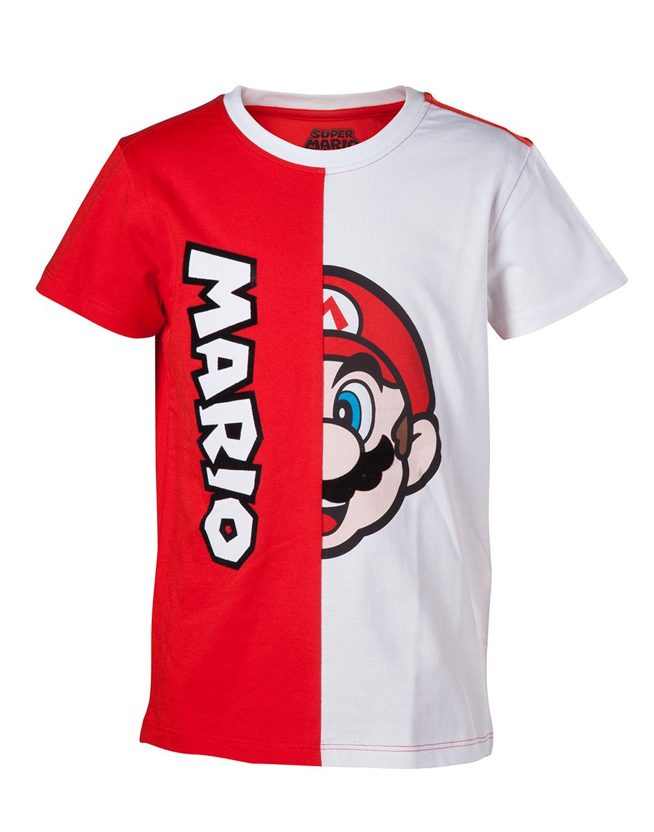 NINTENDO - T-Shirt Mario Cut & Sew KIDS (98/104)