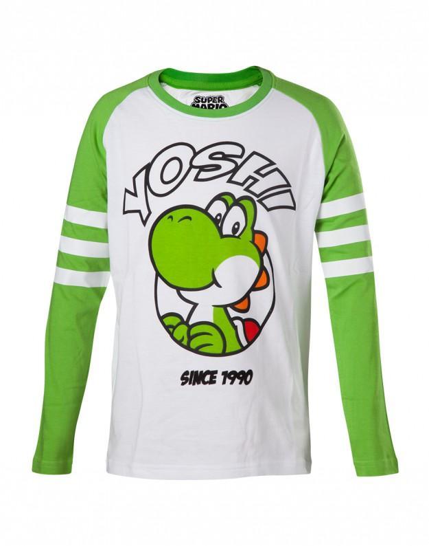 NINTENDO - T-Shirt Yoshi Longsleeve KIDS (158/164)