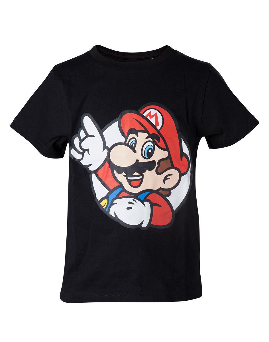NINTENDO - T-Shirt Super Mario - It's a me Mario - KIDS - (122/128)