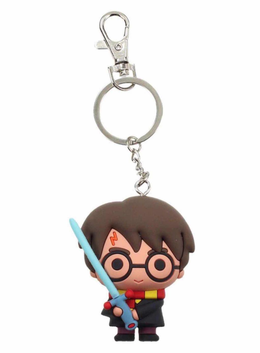HARRY POTTER - Rubber Figure Keychain - Harry Potter Sword of Gryff..