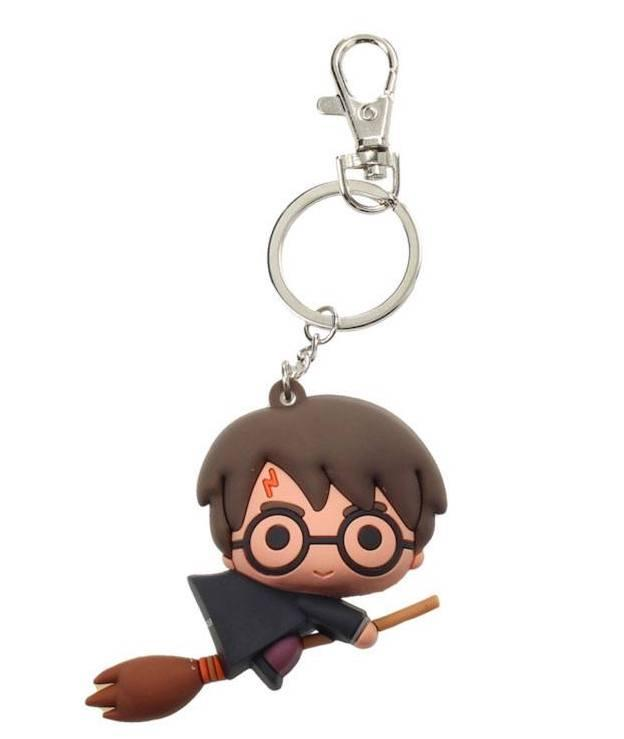 HARRY POTTER - Rubber Figure Keychain - Harry Potter Nimbus