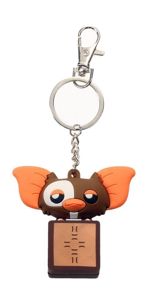 GREMLINS - Rubber Figure Keychain - Gizmo in Box