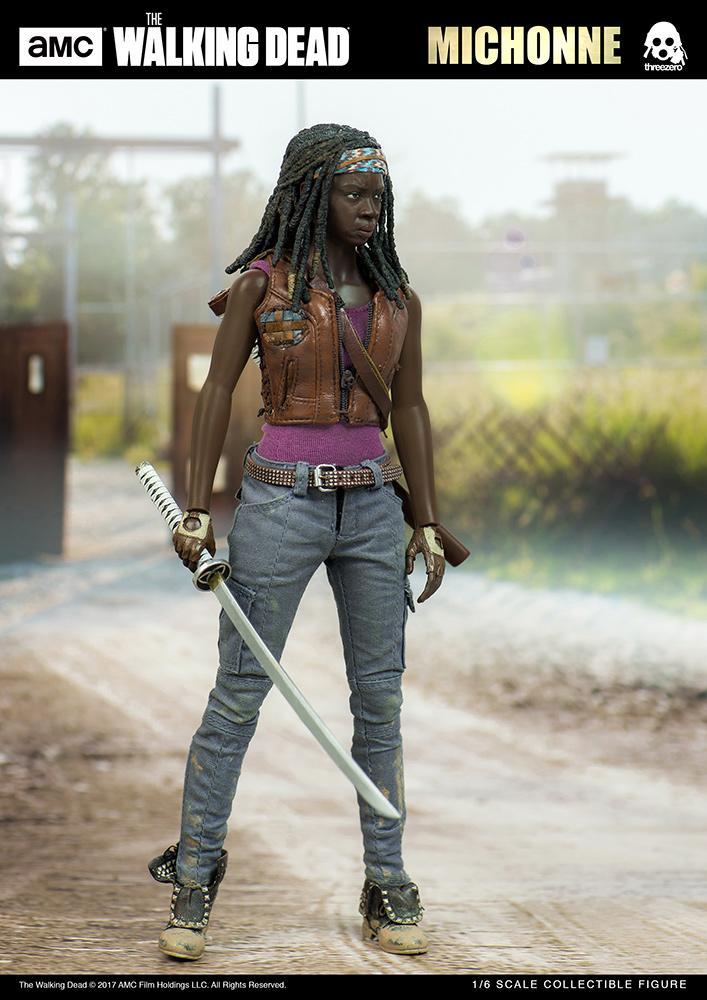 THE WALKING DEAD - Michonne Action Figure - 30cm_1