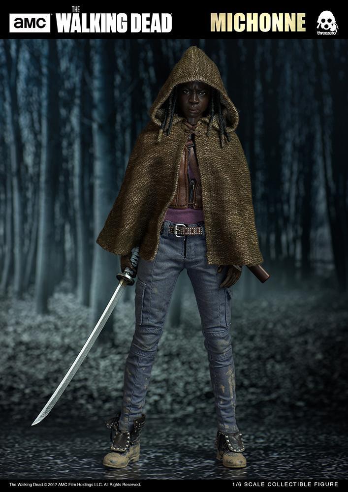 THE WALKING DEAD - Michonne Action Figure - 30cm_2