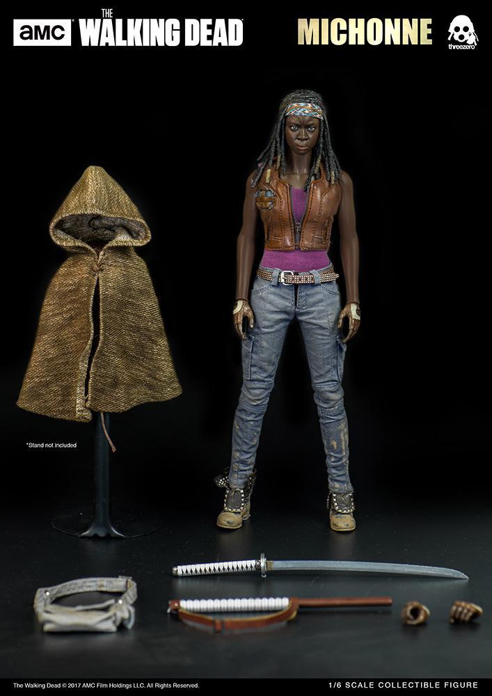 THE WALKING DEAD - Michonne Action Figure - 30cm_4