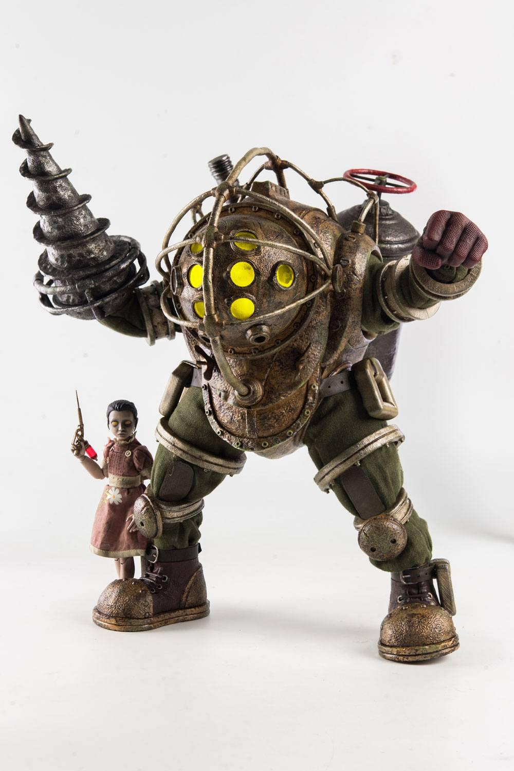 BIOSHOCK - Big Daddy and Little Sister 1/6 Scale Figures - 32cm
