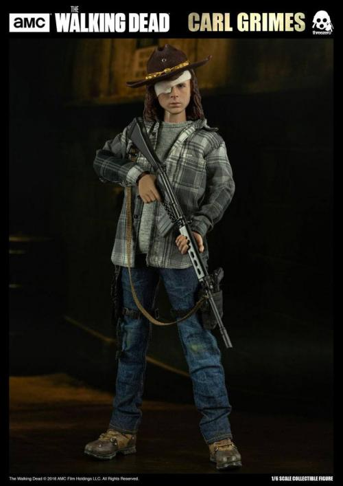 THE WALKING DEAD - Carl Grimes Regular Action Figure - 29cm