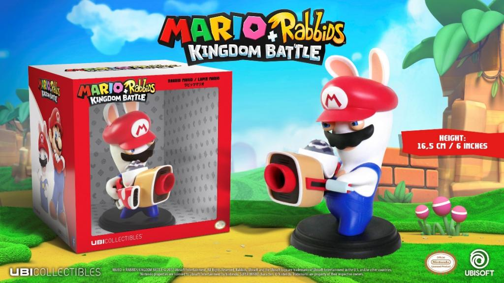 MARIO + RABBIDS KINGDOM - Figurine 6 inch Rabbit Mario (Ubisoft)