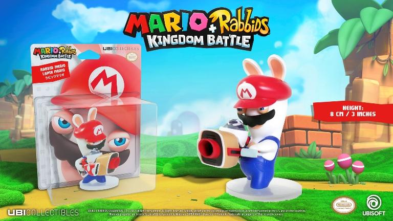 MARIO + RABBIDS KINGDOM - Figurine 3 inch Rabbit Mario (Ubisoft)