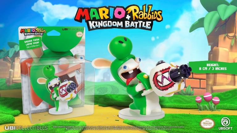 MARIO + RABBIDS KINGDOM - Figurine 3 inch Rabbit Yoshi (Ubisoft)