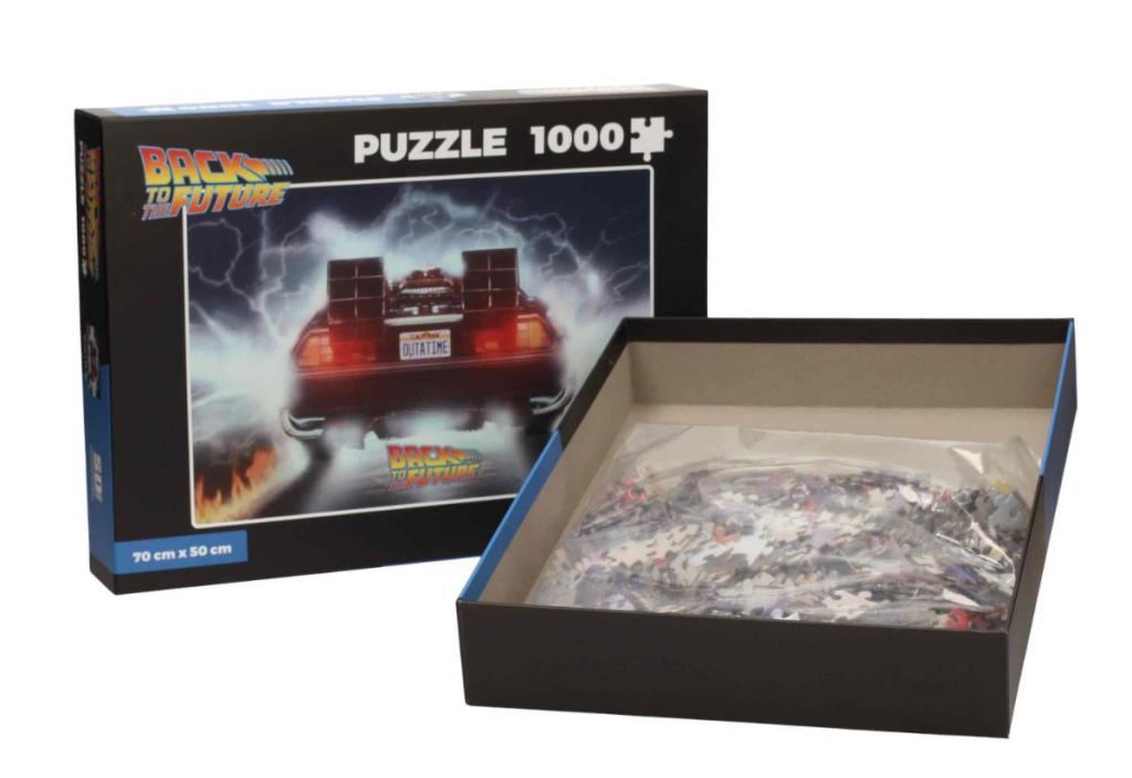BACK TO THE FUTURE - Puzzle 1000P - Delorean Out of Tme