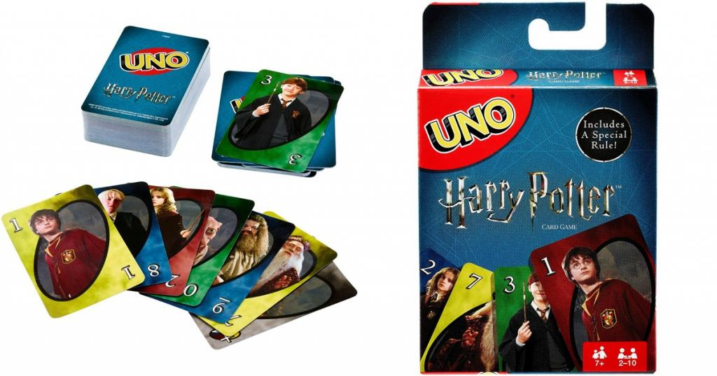 HARRY POTTER - UNO (Uk Only)