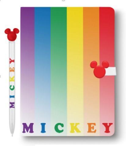 DISNEY - Mickey Rainbow Notebook