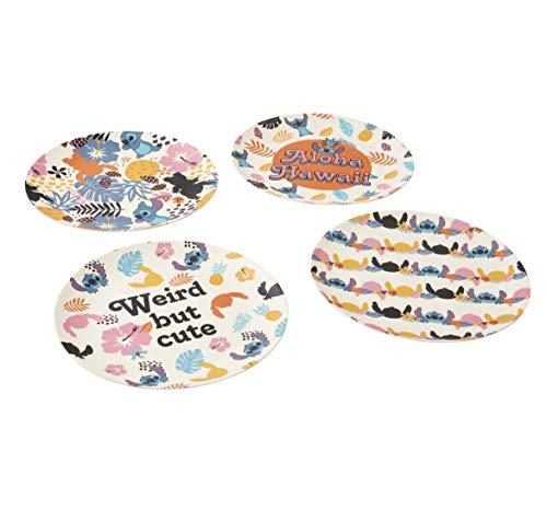 DISNEY - Lilo & Stitch Aloha Hawaii - Set d'Assiettes