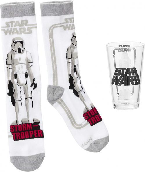 STAR WARS - Coffret Verre et Chausettes  'Stormtrooper'