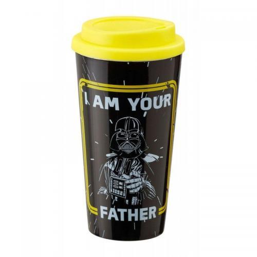 STAR WARS - I Am Your Father - Plastic Lidded Mug
