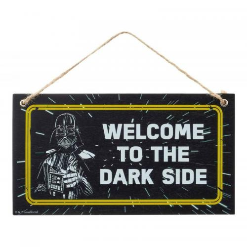 STAR WARS - Welcome to the Dark Side - Panneau Bois