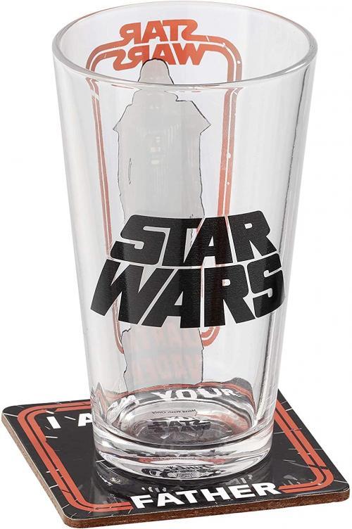 STAR WARS - Coffret Verre et dessous de verre 'Darth Vader'