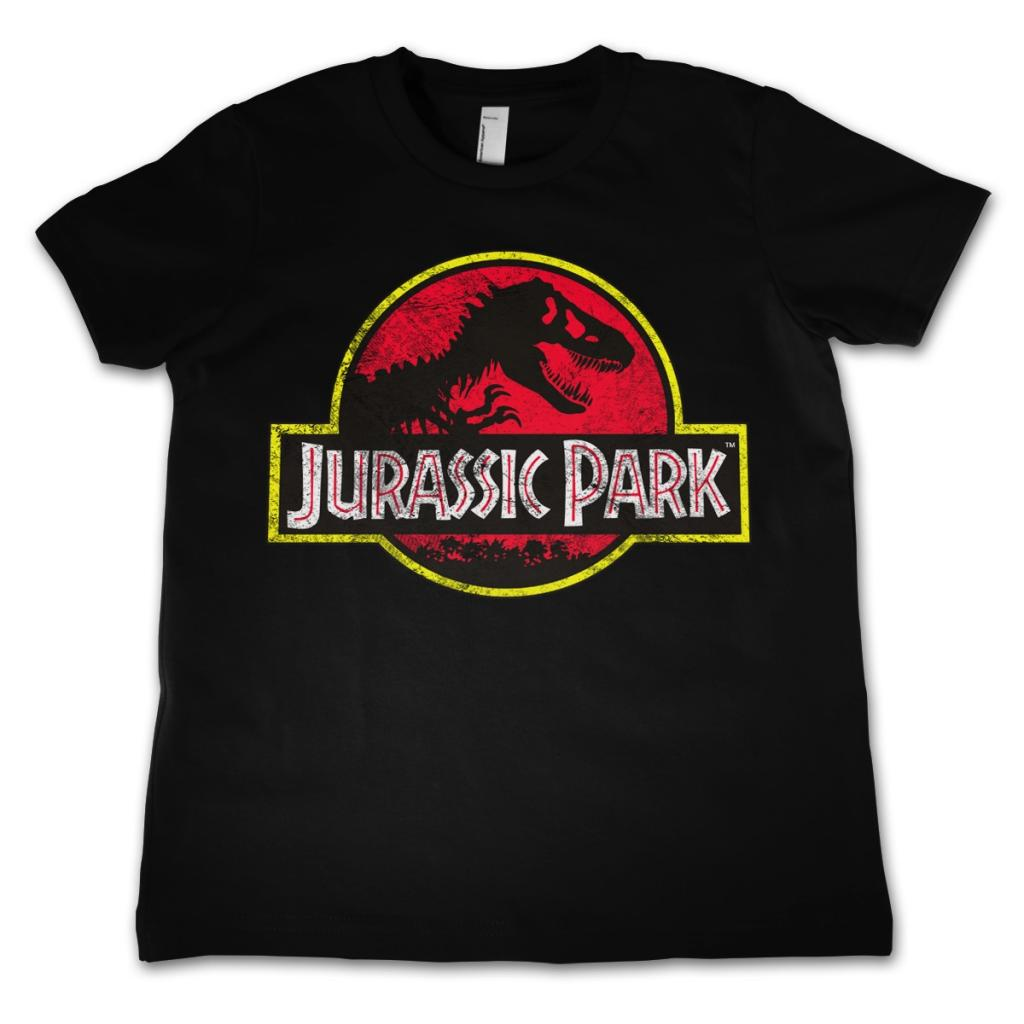 JURASSIC PARK - T-Shirt KIDS Logo Distressed (4 Years)
