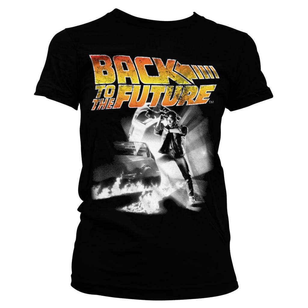 BACK TO THE FUTURE - T-Shirt Poster GIRL (XL)_2