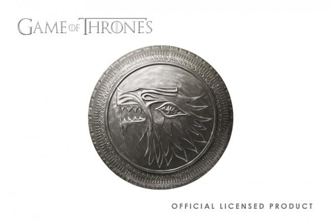 GAME OF THRONES - Stark Infantry Shield Replica 1:1