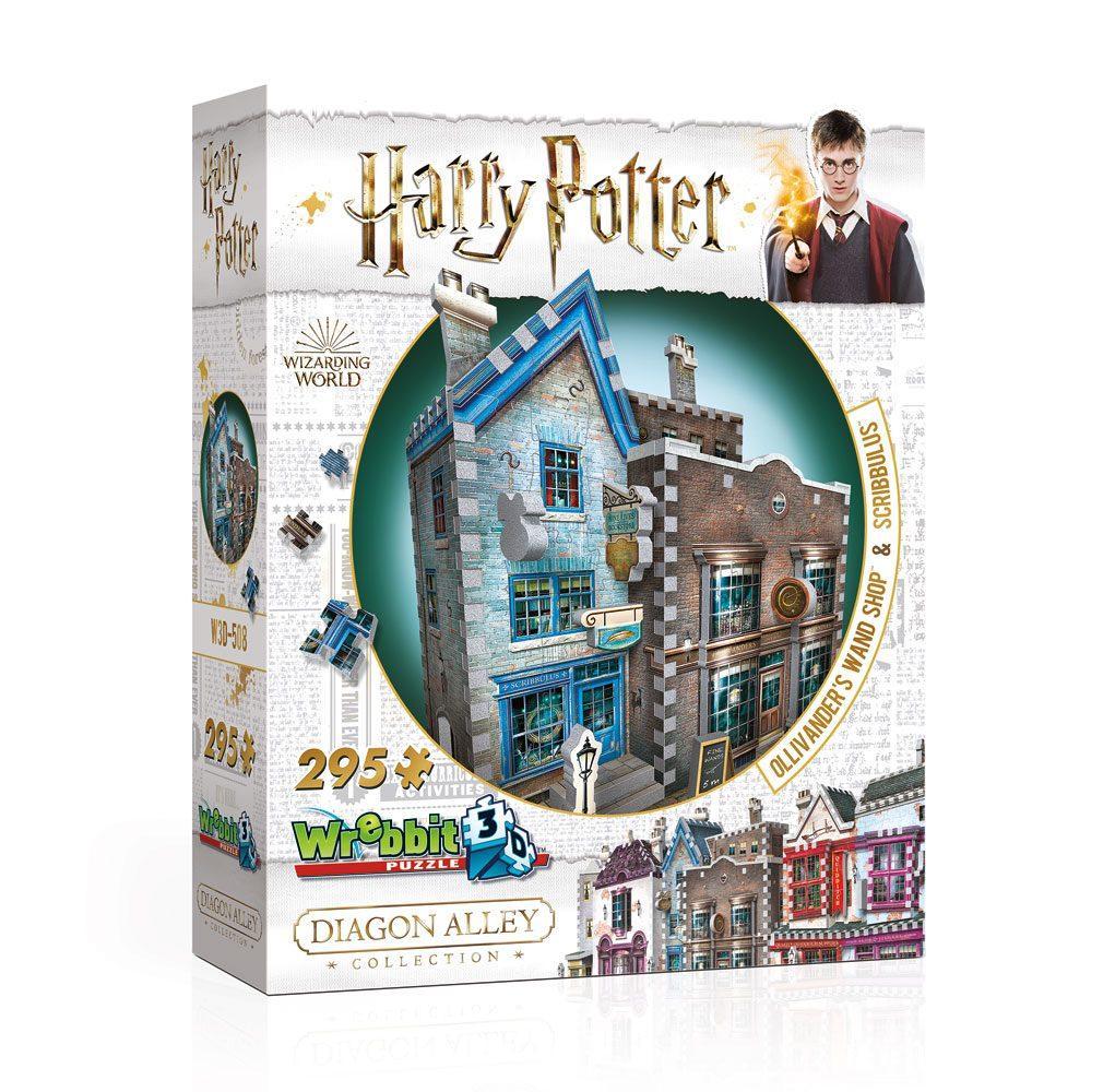 HARRY POTTER - Puzzle 3D - Boutiques Ollivander et Scribbulus - 295pcs_1