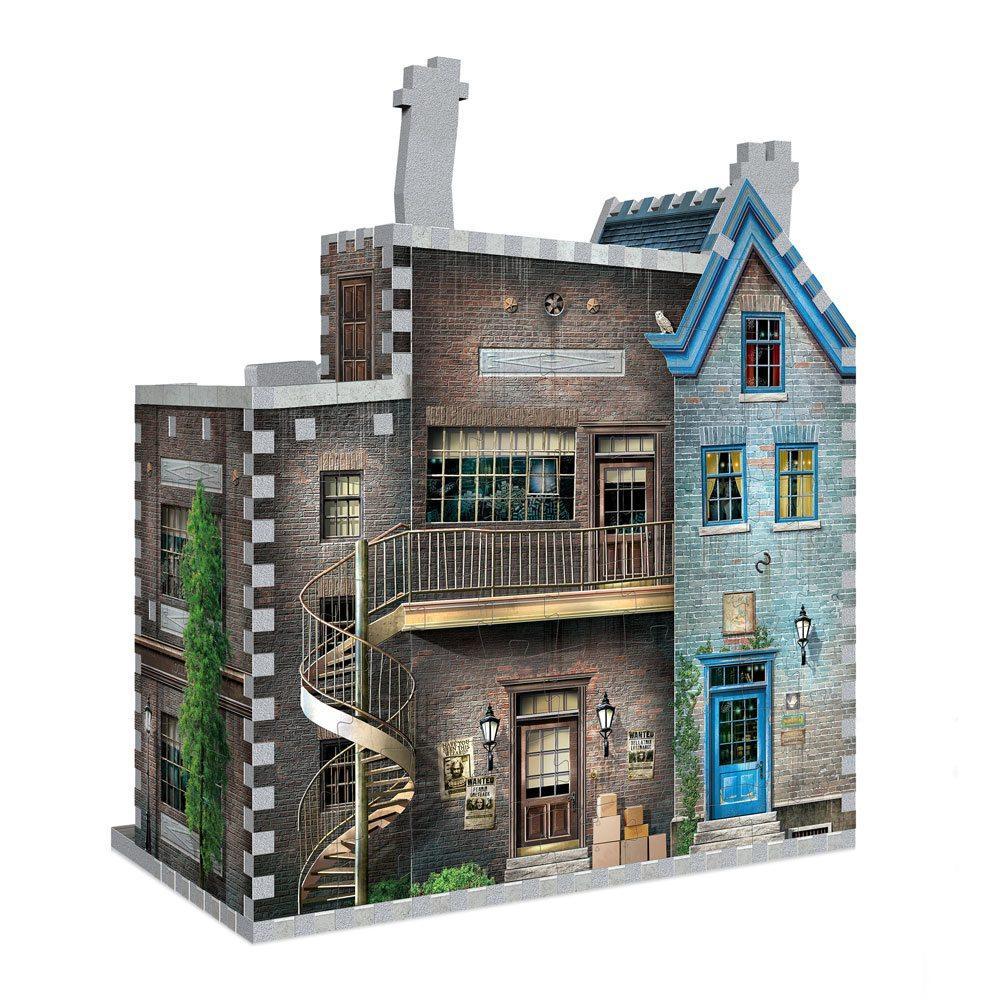 HARRY POTTER - Puzzle 3D - Boutiques Ollivander et Scribbulus - 295pcs_2