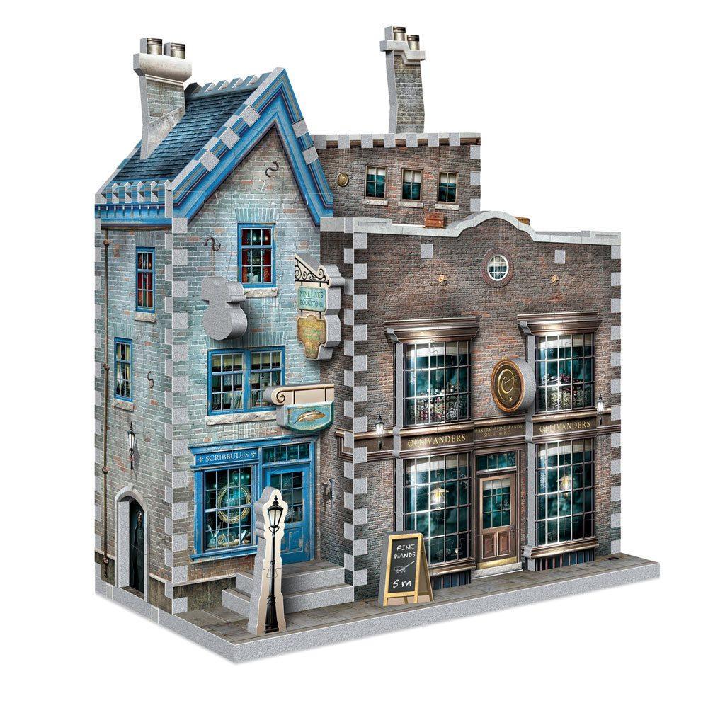 HARRY POTTER - Puzzle 3D - Boutiques Ollivander et Scribbulus - 295pcs_3