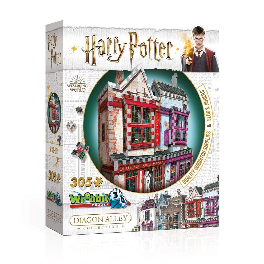 HARRY POTTER - Puzzle 3D - Boutiques Quidditch - 305pcs