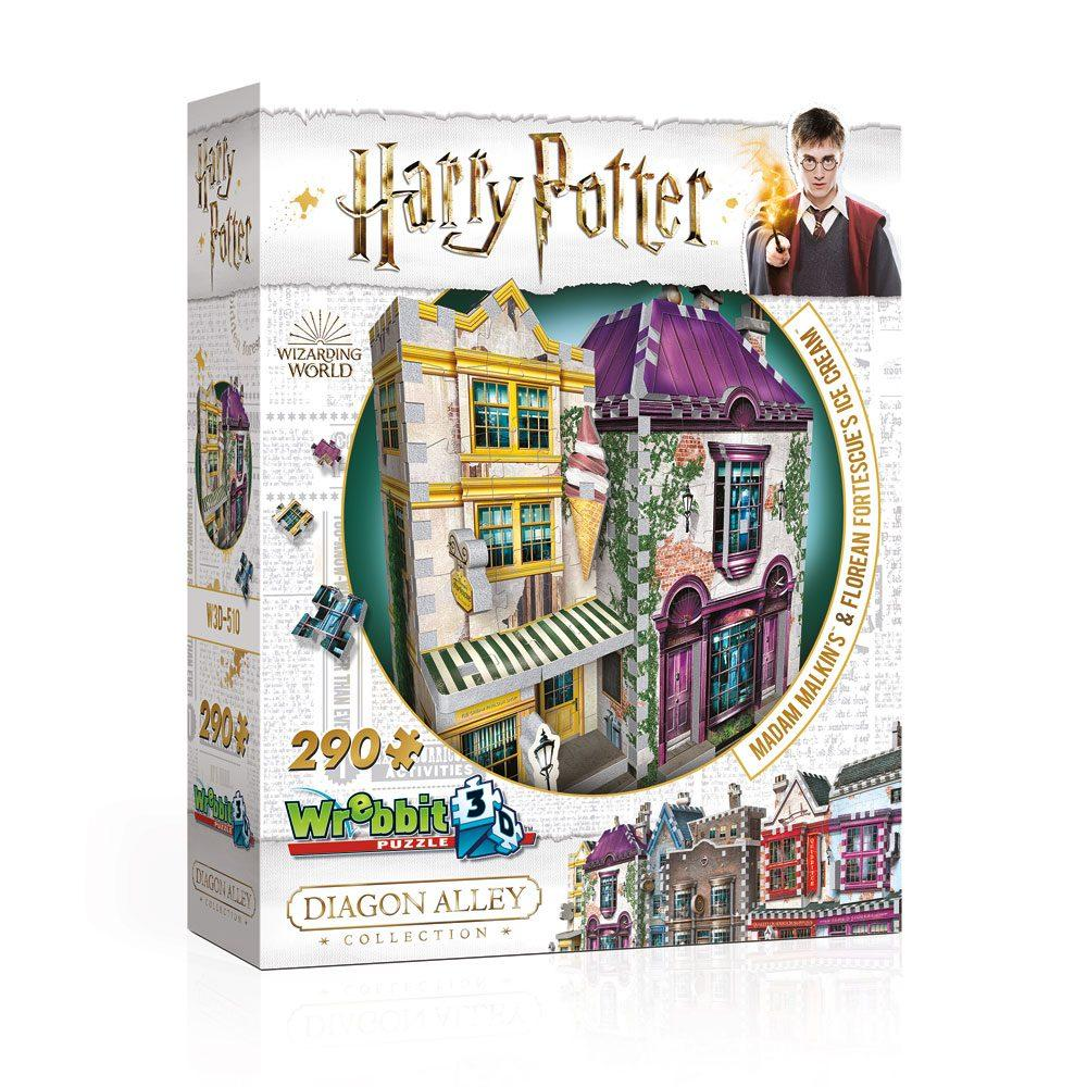 HARRY POTTER - Puzzle 3D - Boutiques Madame Guipure - 290pcs