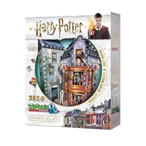 HARRY POTTER - Puzzle 3D - Boutiques Weasley - 285 Pces