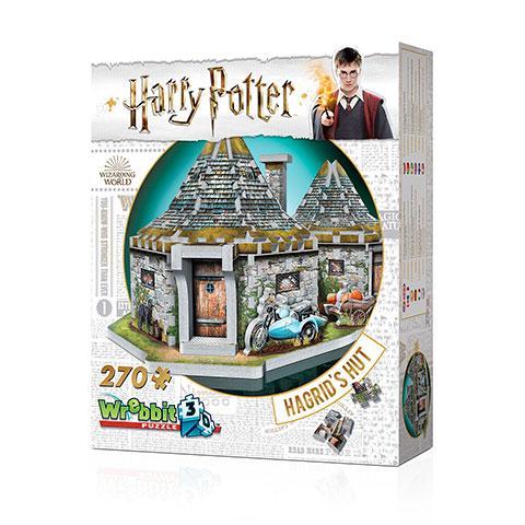 HARRY POTTER - Puzzle 3D - Hutte d'Hagrid  - 285 Pces