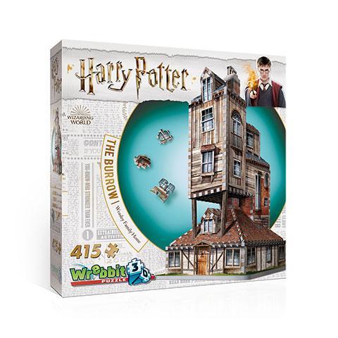 HARRY POTTER - Puzzle 3D - La Maison de Weasley - 415 pces