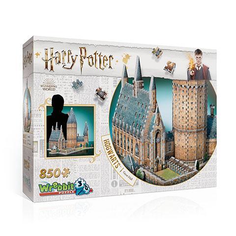 HARRY POTTER - Puzzle 3D - Poudlard La Grande Salle - 850 pces
